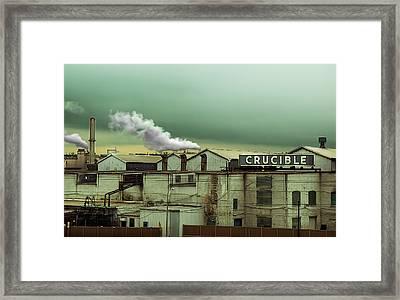 Crucible Framed Print by Steven Michael