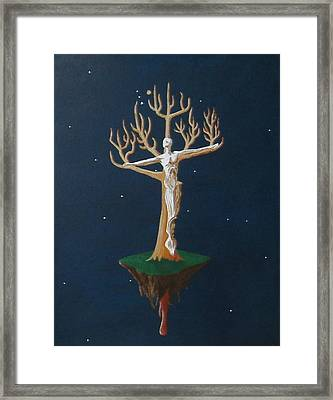 Crucifix 2 Framed Print