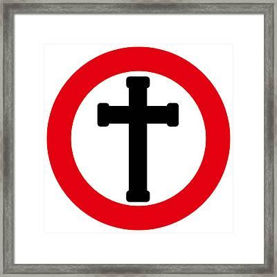 Crucifix Framed Print
