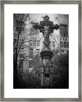 Crucifix Framed Print