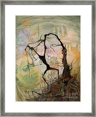 Crucifixion 1968 - Homage To Martin Luther King Framed Print