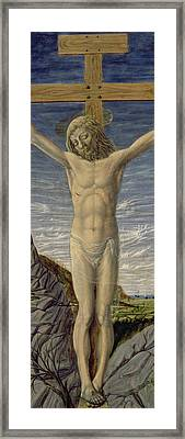 Crucifixion  Framed Print by Master of the Barberini Panels