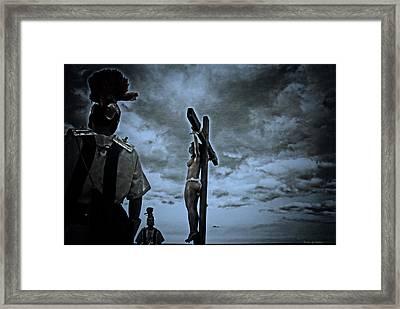 Crucifixion Scene I Framed Print