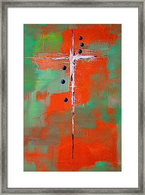 Cruciform 2 Framed Print