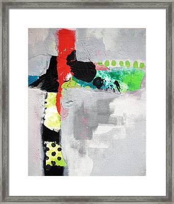 Cruciform 4 Framed Print by Nancy Merkle
