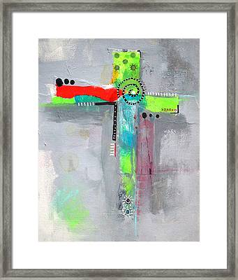 Cruciform 5 Framed Print by Nancy Merkle