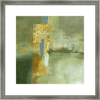 Cruciform Study Neutral Framed Print by Jane Davies