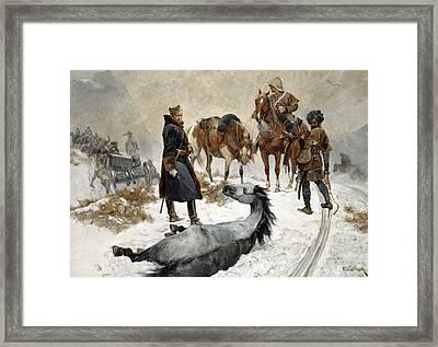 Cruel To Be Kind Framed Print by Richard Caton Woodville II