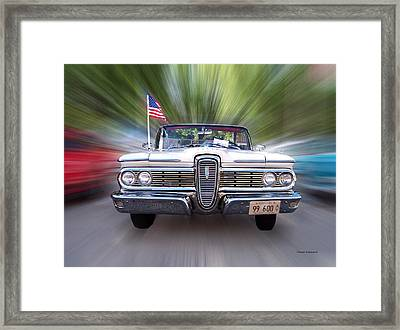 Cruise Night 02 Framed Print by Thomas Woolworth