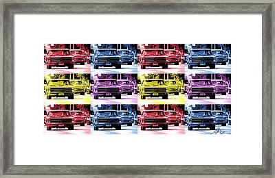 Cruise Pop 1 Framed Print by Gordon Dean II
