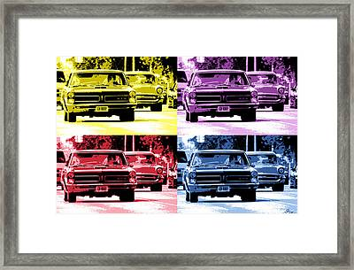 Cruise Pop 2 Framed Print by Gordon Dean II