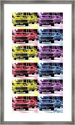 Cruise Pop 4 Framed Print by Gordon Dean II