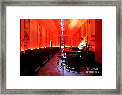 Cruise Room Oxford Hotel Denver Framed Print
