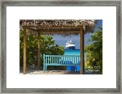 Cruise View - Bahamas Framed Print by Brian Jannsen