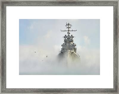 Cruiser Ghost Framed Print