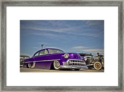 Cruisin 53 Framed Print