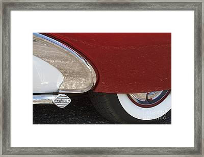 Cruisin Framed Print by Dennis Hedberg