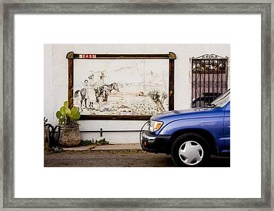 Cruisin' Las Cruces Framed Print