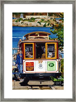 Cruisin The City Framed Print by Cory Still