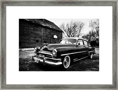 Framed Print featuring the photograph Cruisin' The Farm by Brian Bonham