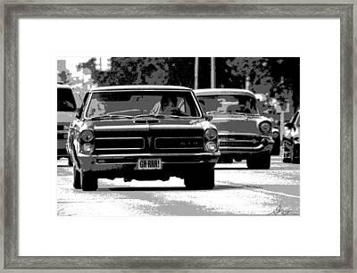 Cruisin' Woodward Framed Print by Gordon Dean II