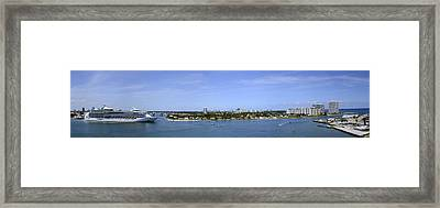 Cruising Fort Lauderdale Framed Print