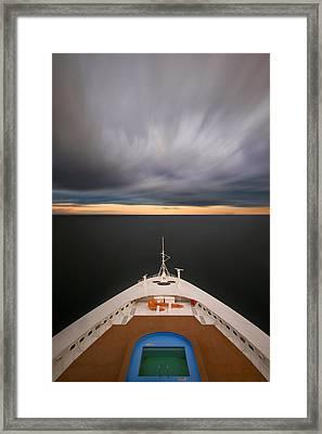 Cruising The Baltic Mg2212 Framed Print