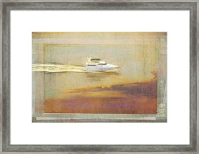 Cruising The Halifax Framed Print by Alice Gipson