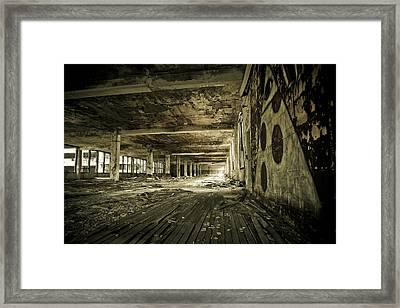 Crumbling History Framed Print