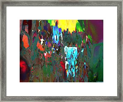 Crusades Framed Print by Willena Le Roux