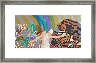 Framed Print featuring the painting Crushed by Erika Chamberlin