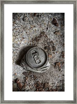Crushed Framed Print by Margie Hurwich