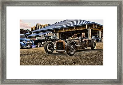 Crusin' In The Rat Framed Print