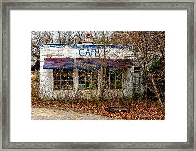 Crusty Cafe' Framed Print by Christopher Holmes