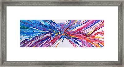 Crux Framed Print