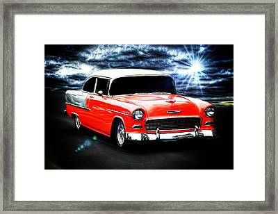 Old Car Framed Print featuring the photograph Cruze'n  by Aaron Berg