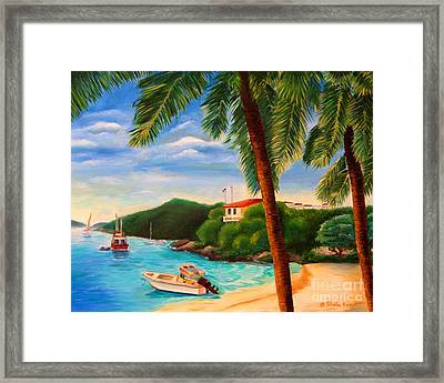 Cruzin' In The Bay Framed Print
