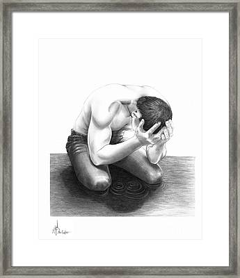 Cry Me A River Framed Print by Murphy Elliott