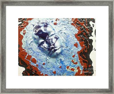 Cry Me A River Framed Print by Lady Ex