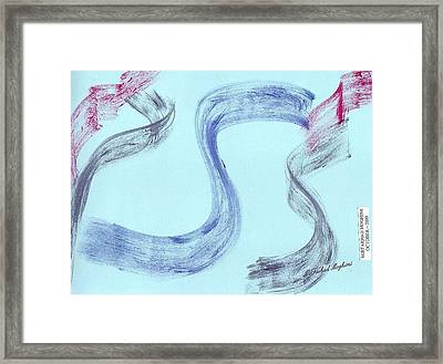 Cry Of Street Framed Print by Mirfarhad Moghimi