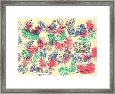 Cry Of Wind 01 Framed Print by Mirfarhad Moghimi