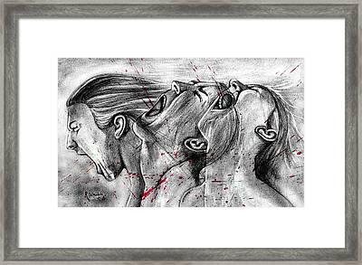 Cry Out Framed Print by Rishabh Ranjan