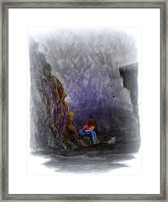 Crying ... Framed Print by Matt Konar