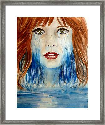 Crying A River Framed Print