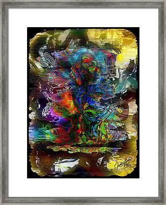 Cryptic Framed Print