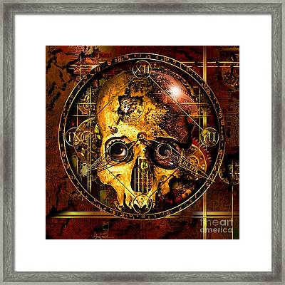 Cryptic Time Course  Framed Print