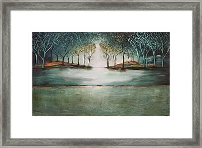 Crystal Forest Framed Print