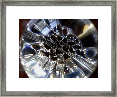 Crystal Ball Framed Print by Jaime Neo