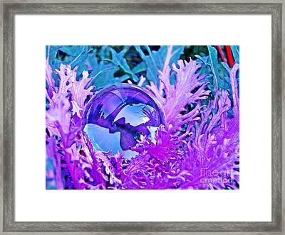 Crystal Ball Project 66 Framed Print by Sarah Loft