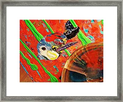 Crystal Ball Project 85 Framed Print by Sarah Loft